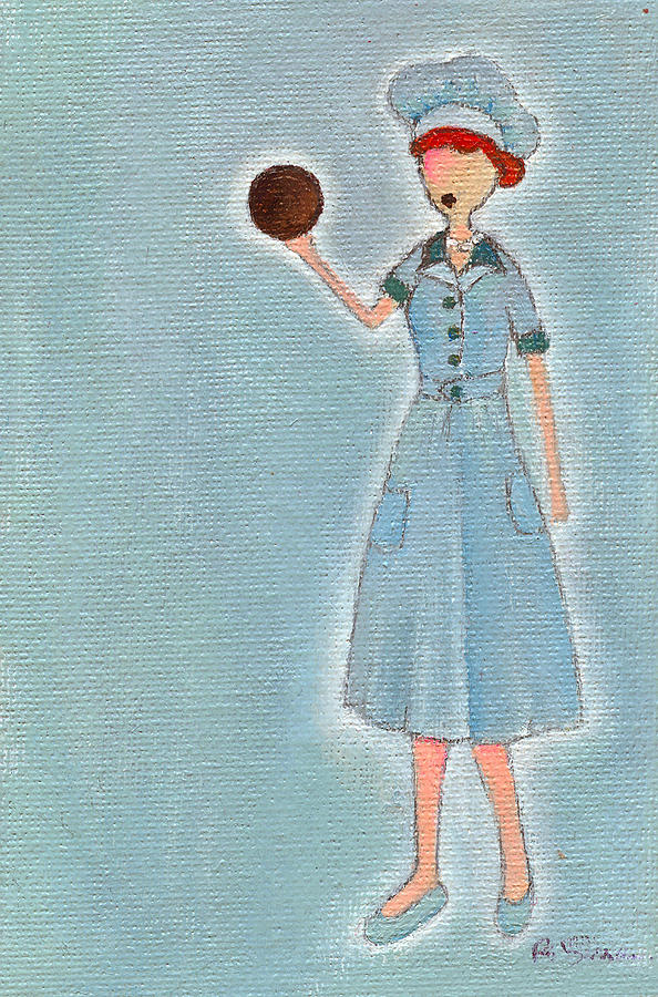 Lucille Ball Painting - Lucys Chocolate Covered Ball by Ricky Sencion
