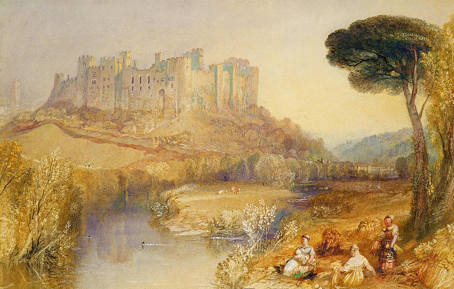 Ludlow Painting - Ludlow Castle  by Joseph Mallord William Turner