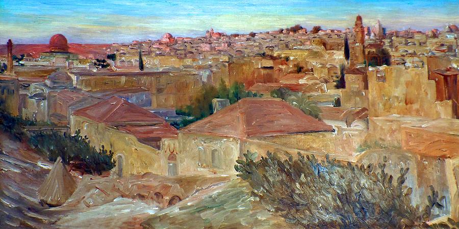 Roman Wall Paintings Landscape