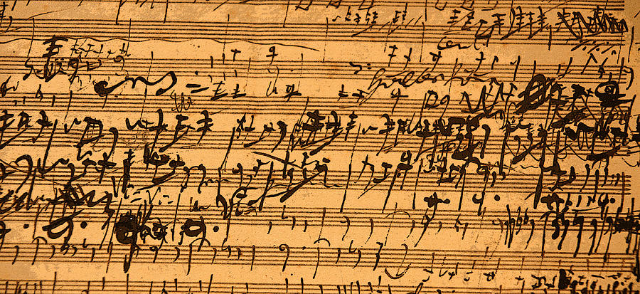 van beethoven hand writing photograph by serge matsko ludwig van beethoven hand writing photograph by serge matsko