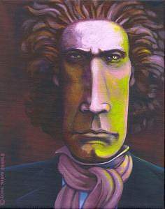 Ludwig Van Beethoven Painting - Ludwig Van Beethoven by Naomi Shadle