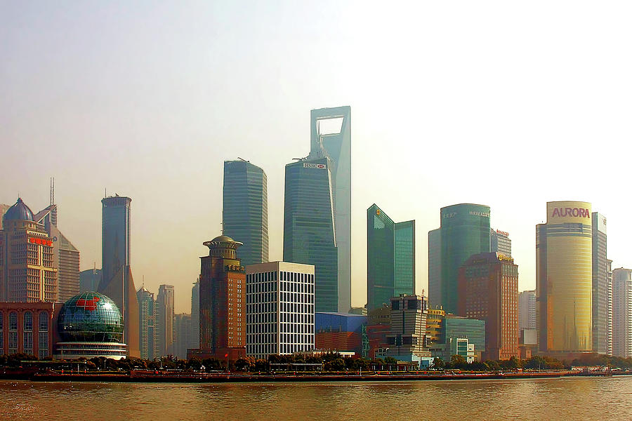 China Photograph - Lujiazui - Pudong Shanghai by Christine Till