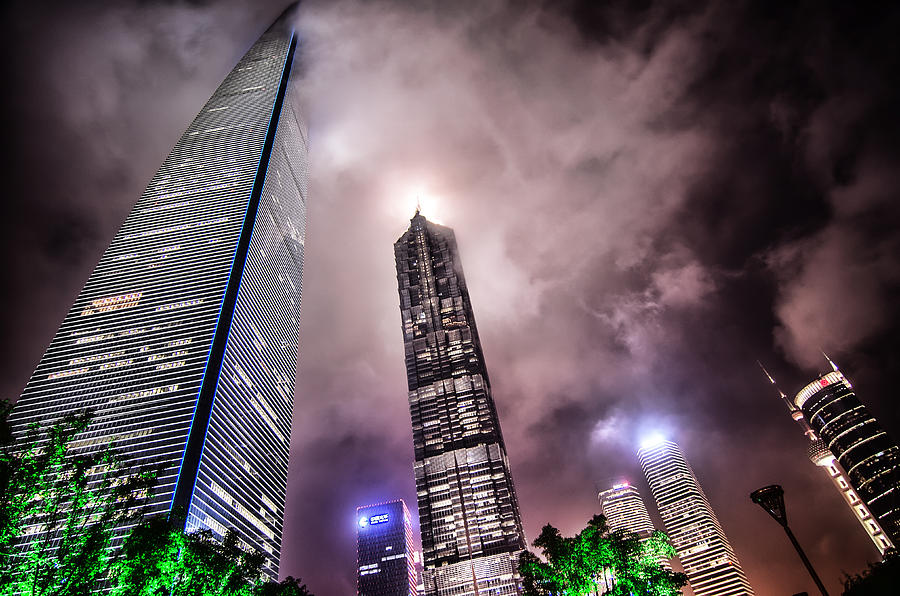 Horizontal Photograph - Lujiazui by Andy Brandl