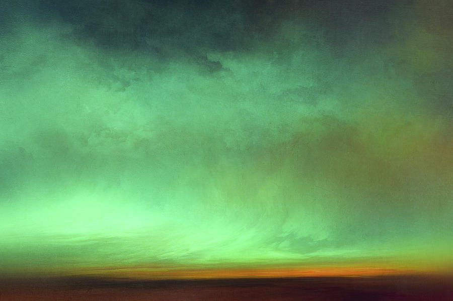 Atmosphere Mixed Media - Lumen II by Lonnie Christopher