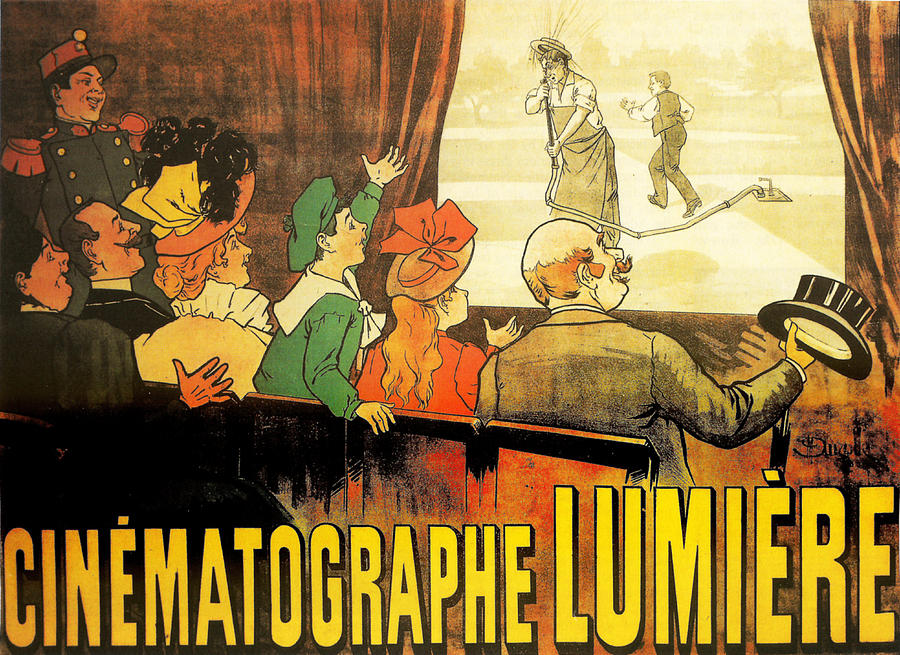 Cinema Photograph - Lumiere Cinematographe by Georgia Fowler