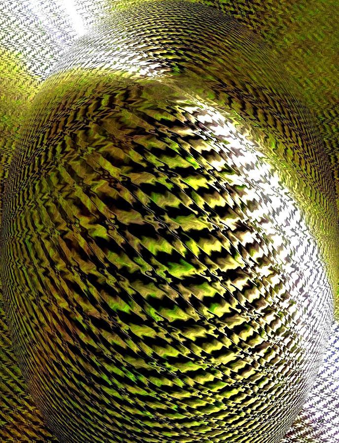 Abstract Digital Art - Luminous Energy 11 by Will Borden