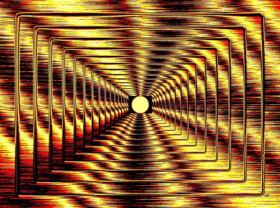 Abstract Digital Art - Luminous Energy 2 by Will Borden