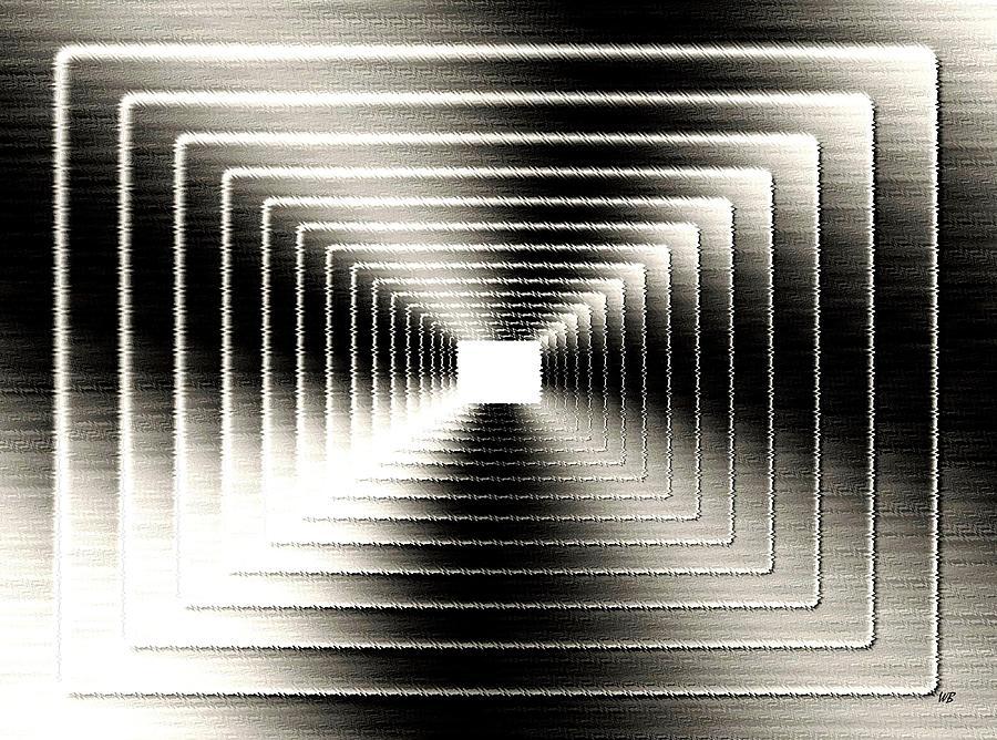 Abstract Digital Art - Luminous Energy 3 by Will Borden