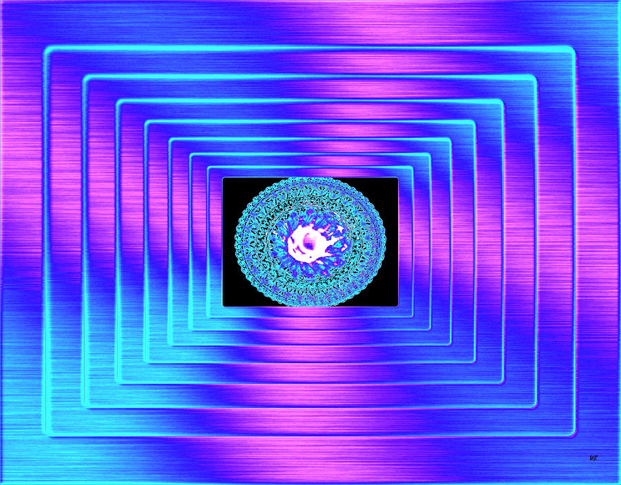 Abstract Digital Art - Luminous Energy 9 by Will Borden