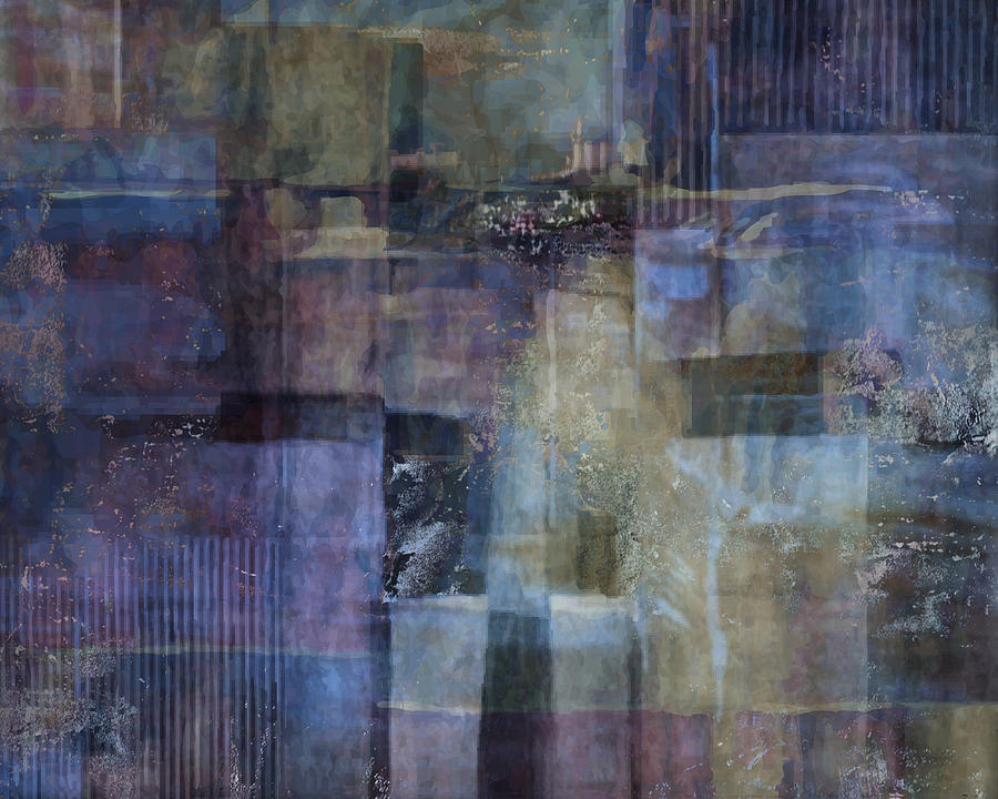 Abstract Painting - Luminous Layers by Lee Ann Asch