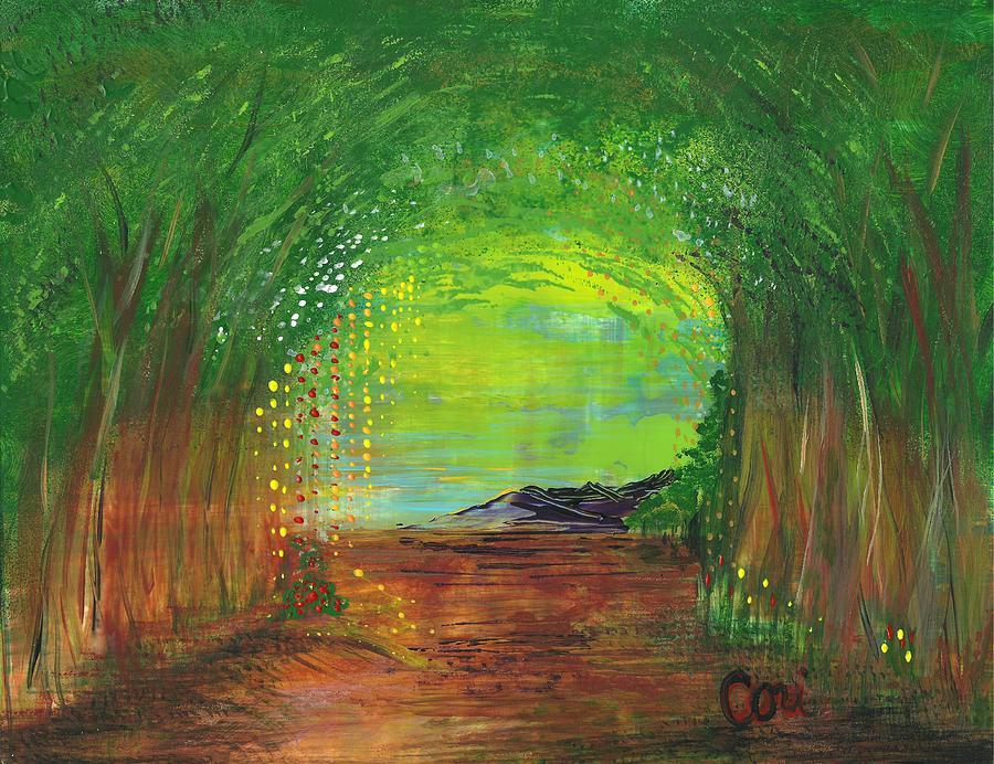 Luminous Path by Corinne Carroll