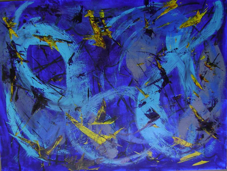 Luminous Series Painting by Therese Legere