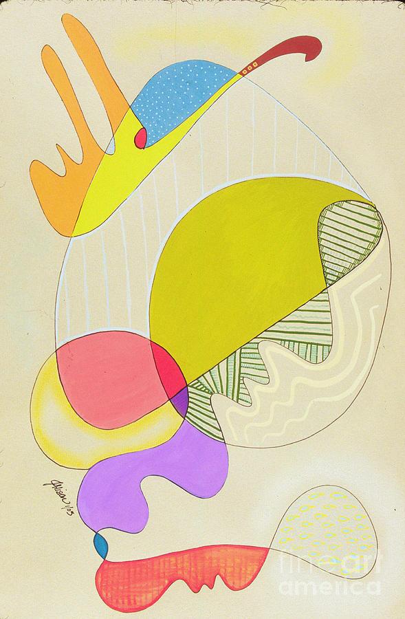 Modern Painting - Lummox Copyright Two Thousand Nine J.a.moscariello by Jaye  Alison
