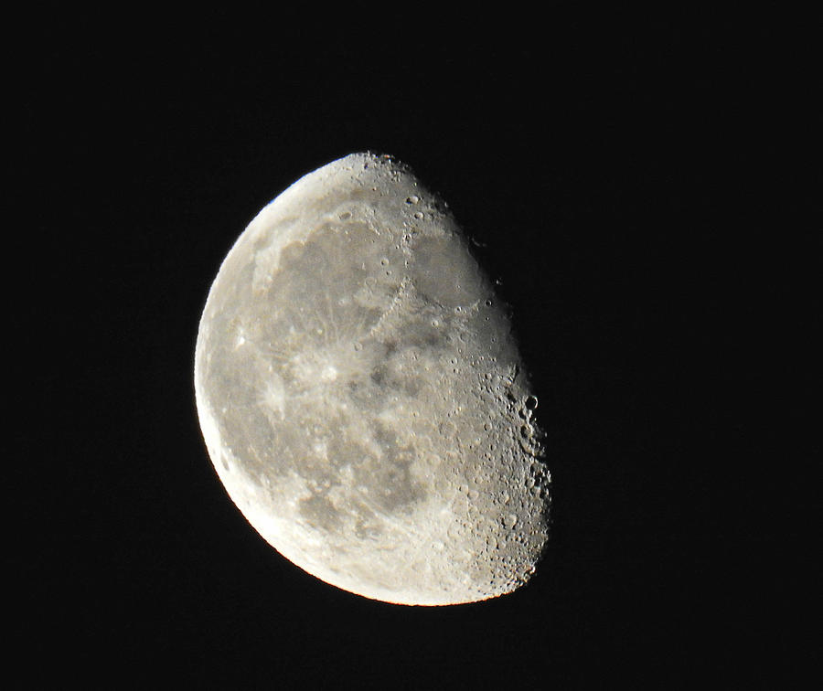 Moon Photograph - Lunar Delight by Brian Chase