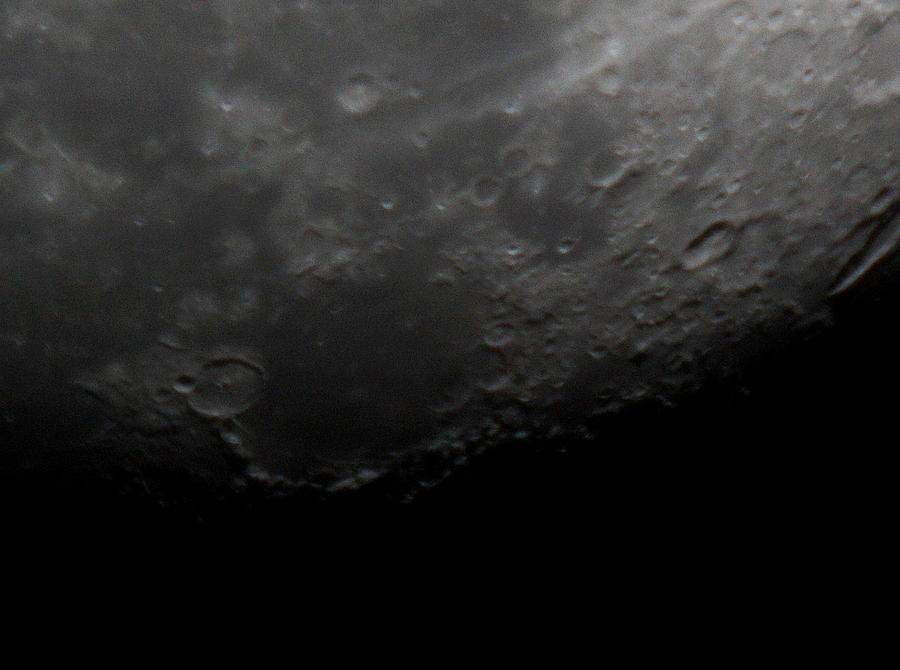 Space Photograph - Lunarscape by Traves Wood