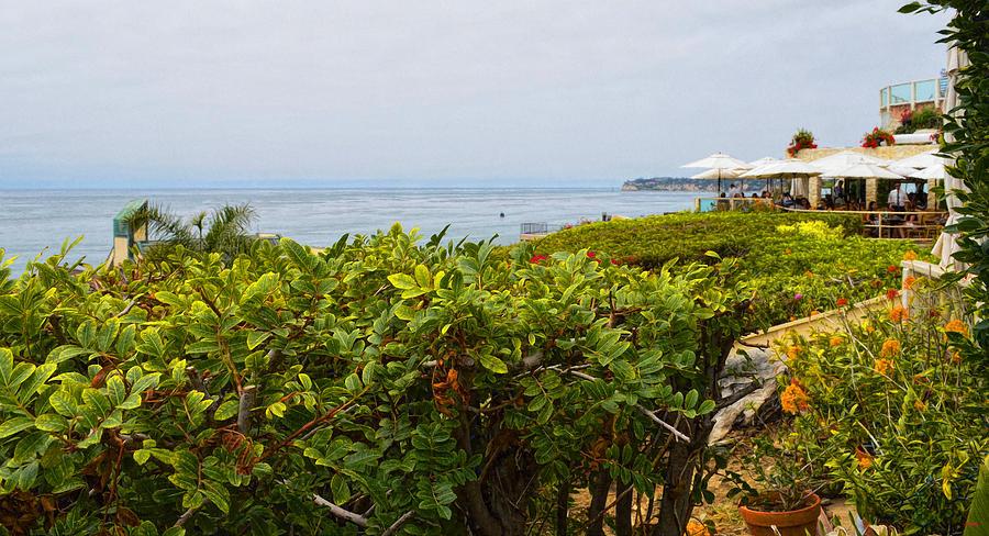 Malibu Photograph - Lunch At Geoffreys Of Malibu by Glenn McCarthy Art and Photography