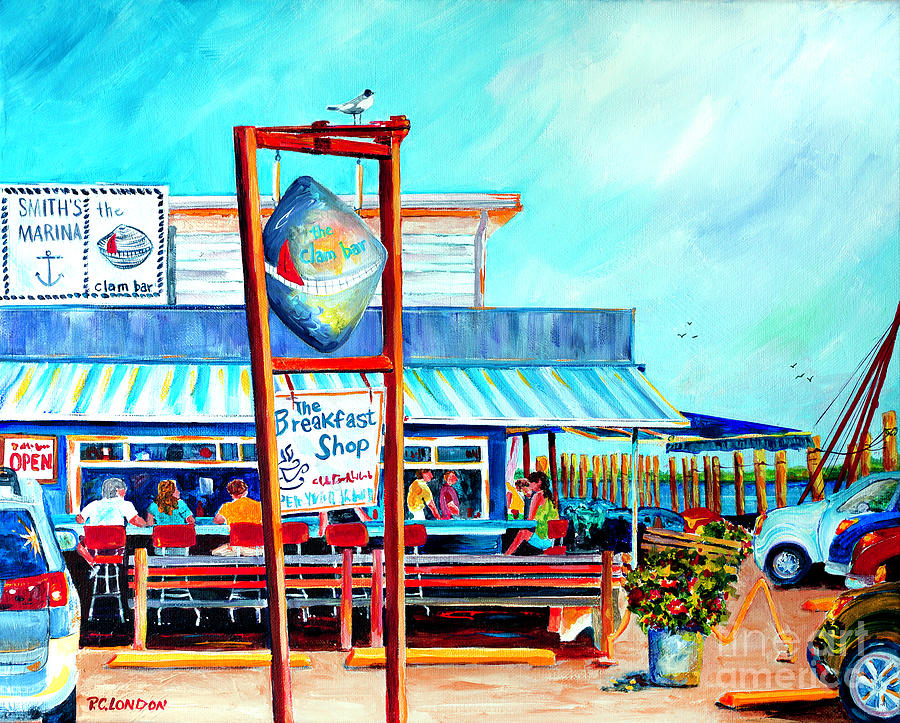 Lunch at the Clam Bar by Phyllis London