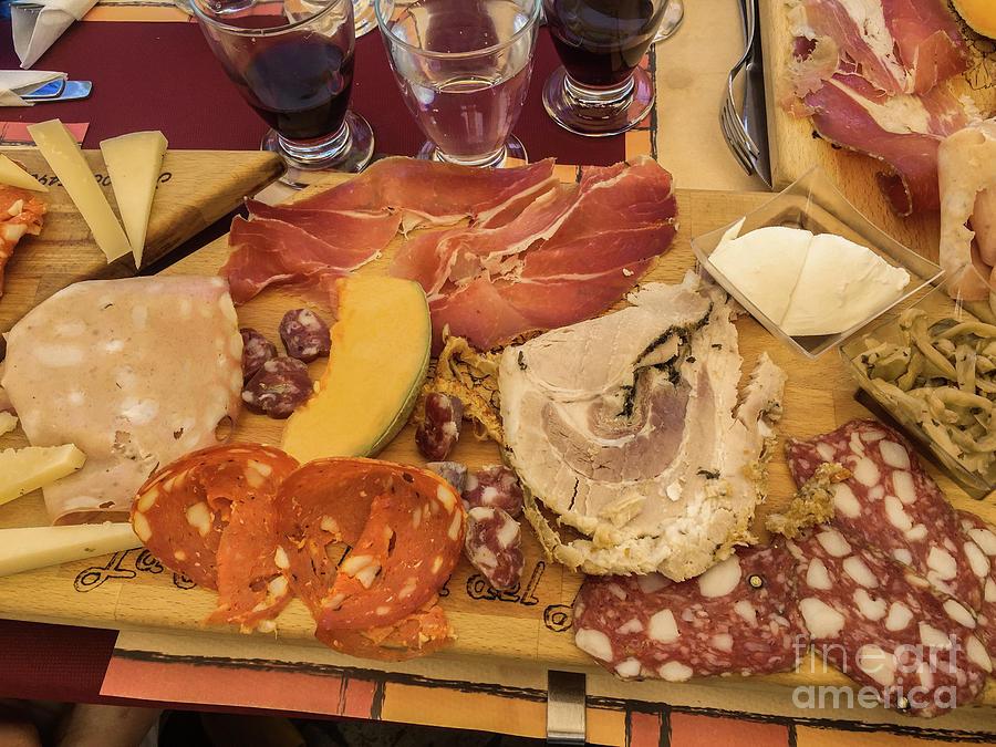 Italia Photograph - Lunch Fraschetta by Joseph Yarbrough