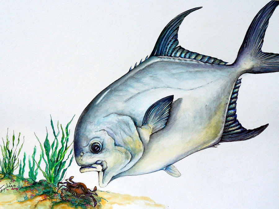 Permit Painting - Lunch Time by Jacqueline Endlich