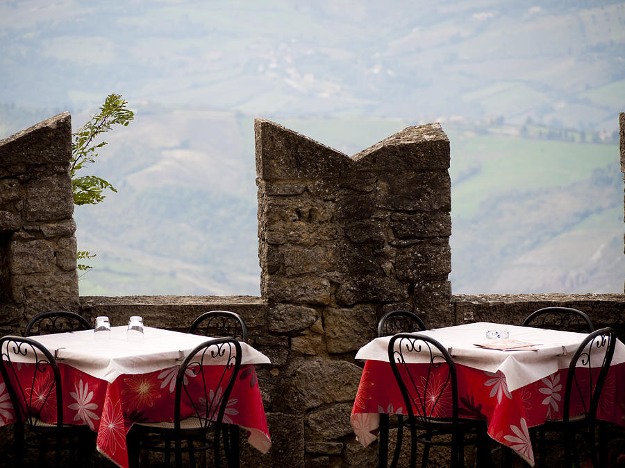 San Marino Photograph - Lunch With A View by Rae Tucker
