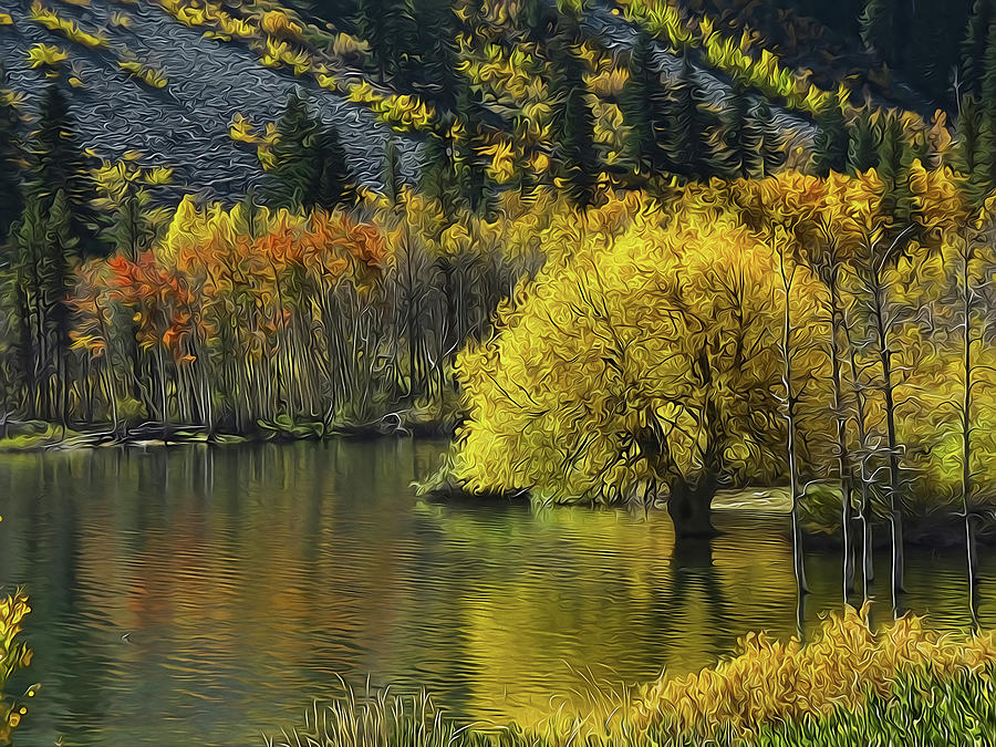 Lundy Lake Beauty by Frank Lee Hawkins