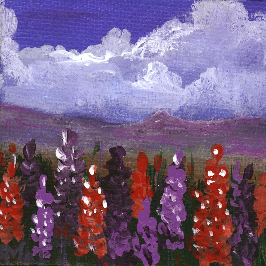 Lupine Land #1 by Anastasiya Malakhova