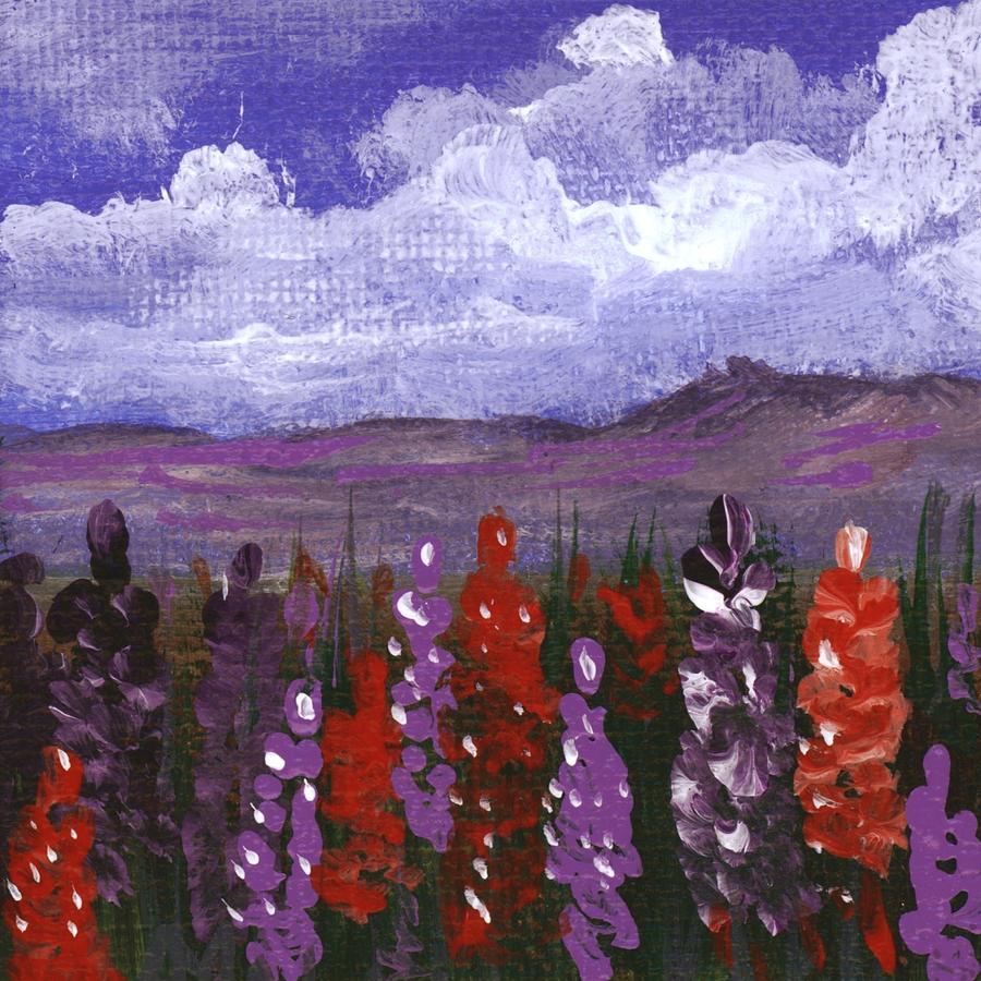 Lupine Land #2 by Anastasiya Malakhova