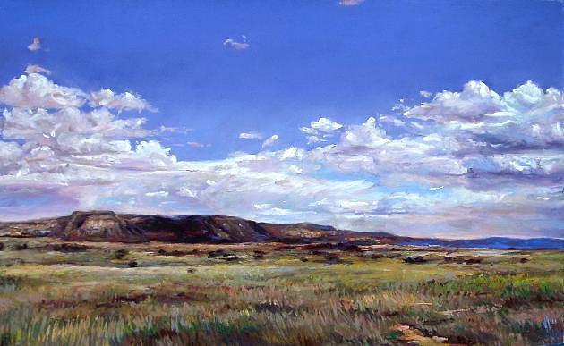 Lush Painting by Cameron Hampton P S A