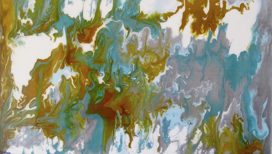 Original Painting - lush by Kim Switzer