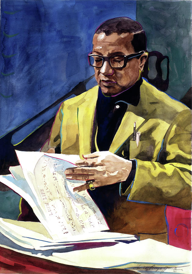 Billy Strayhorn Painting - Lush Life Billy Strayhorn by David Lloyd Glover