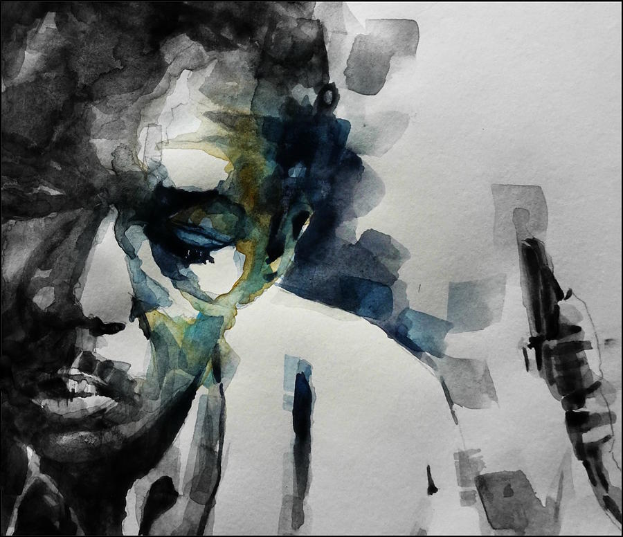 John Coltrane Painting - Lush Life  John Coltrane  by Paul Lovering