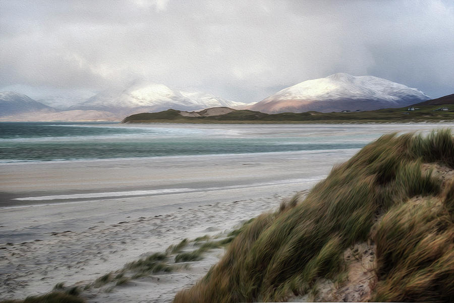 Oil Photograph - Luskentyre View by Phillips and Phillips