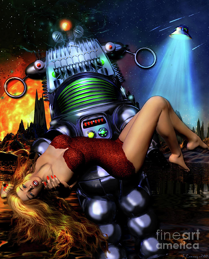 Lust In Space Digital Art - Lust In Space by Shanina Conway