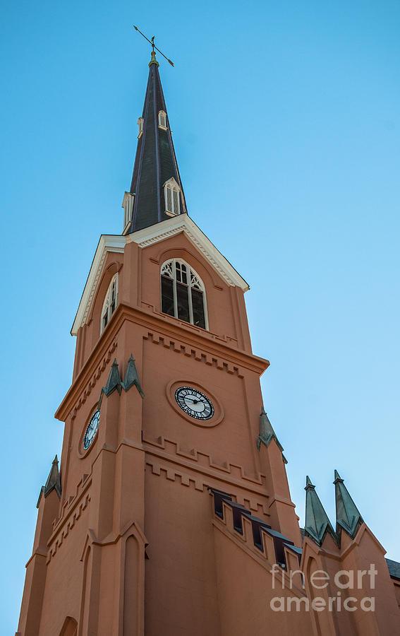 Lutheran Steeple Photograph