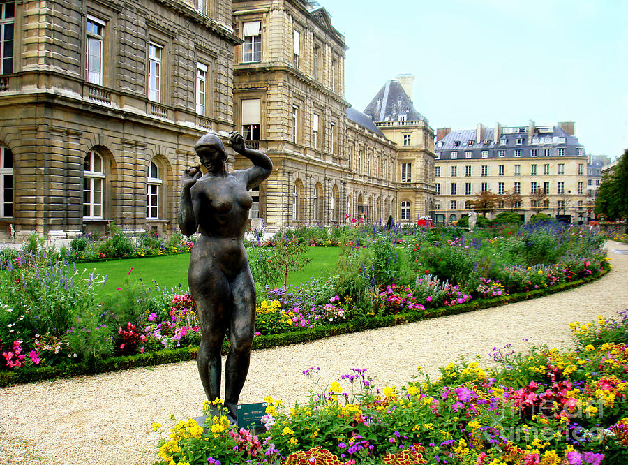 Luxembourg Garden Paris France Photograph By Renata Ratajczyk