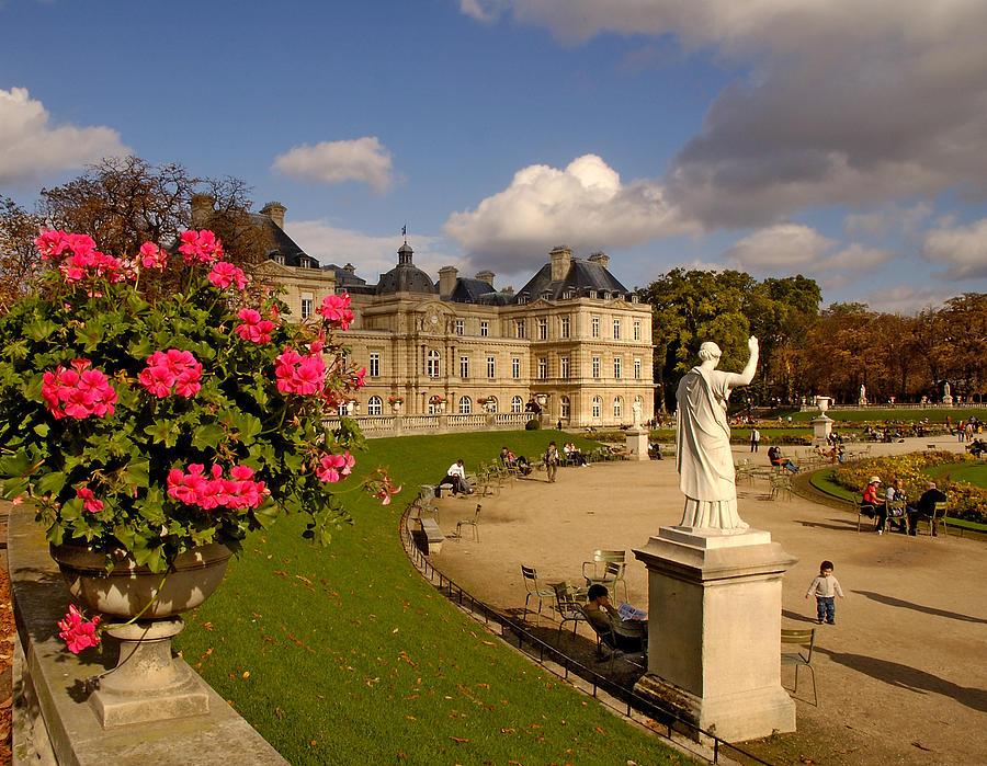 Luxembourg Palace Photograph - Luxembourg Palace by Mick Burkey