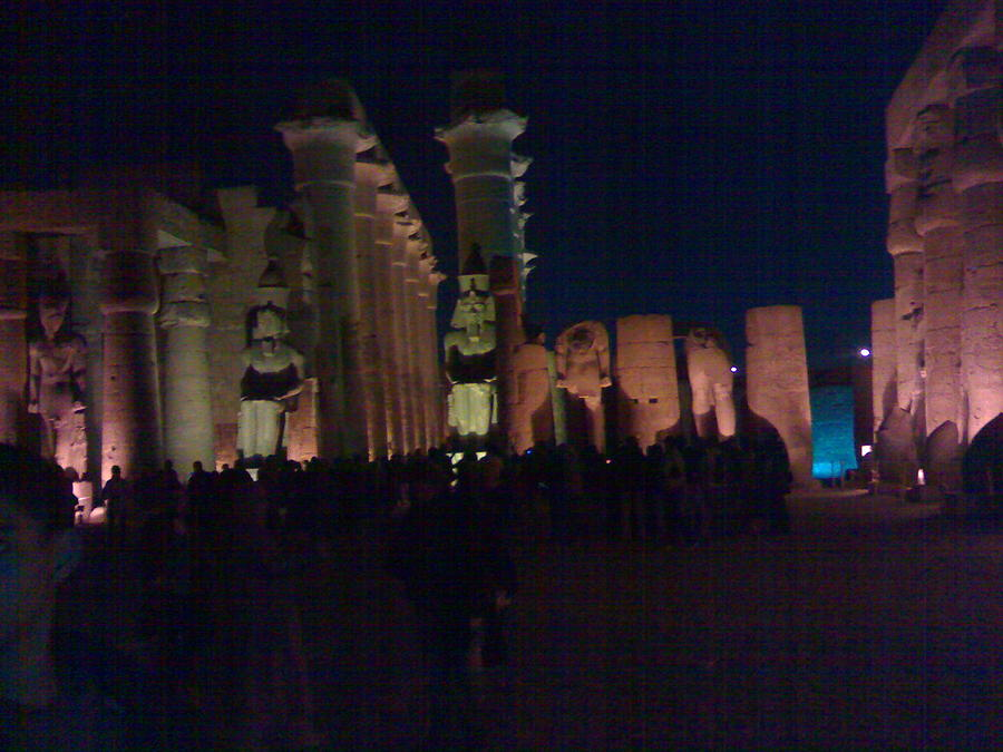 Egypt Photograph - Luxor City In Egypt by Samar Abdelmonem