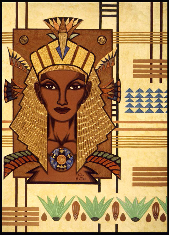 Egyptian Painting - Luxor Deluxe by Tara Hutton