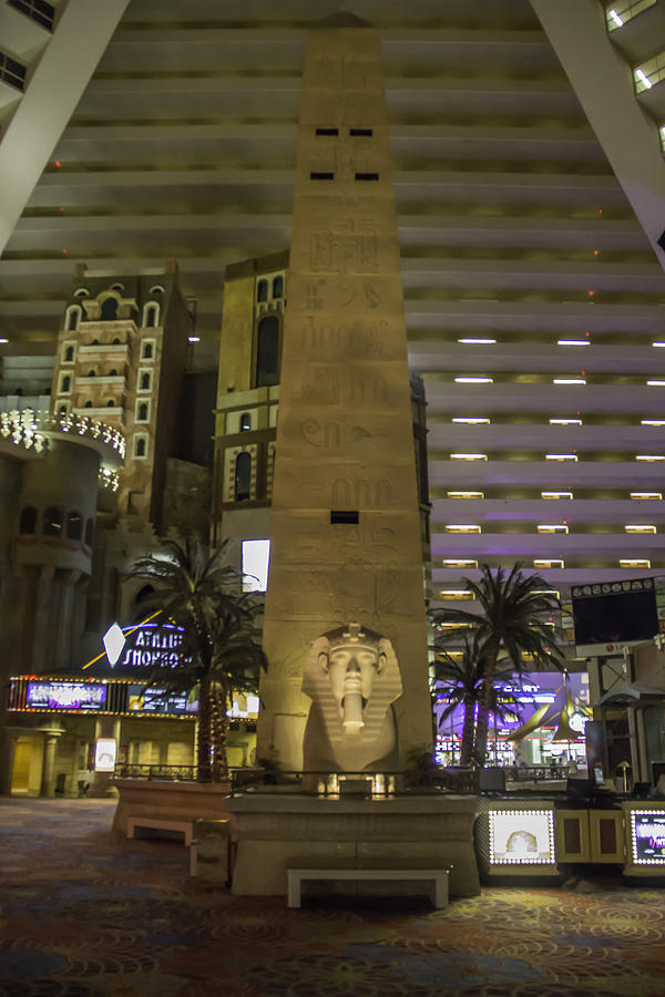 2015 Photograph - Luxor Interior 1 by Teresa Mucha