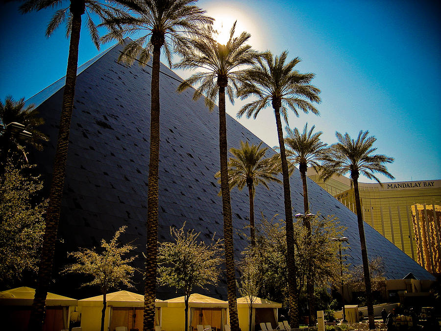 Luxor Photograph - Luxor Las Vegas by Patrick  Flynn
