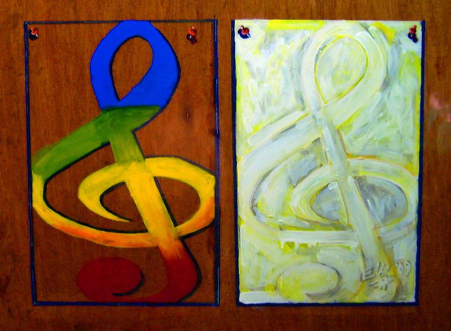 Painting Painting - Luz Brillante by Elio Lopez