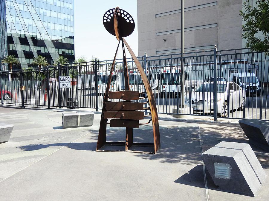 Lv Street Sculpture Photograph