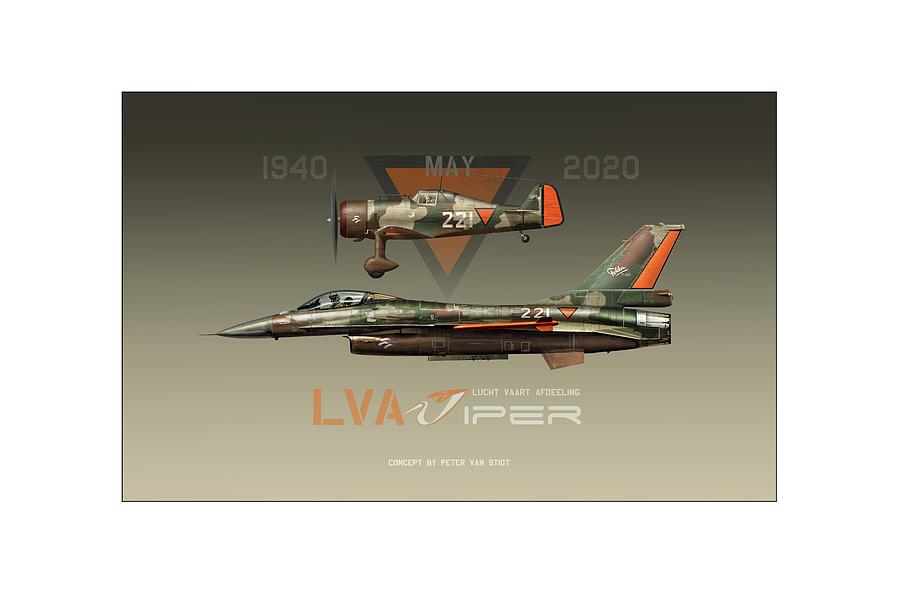 War Digital Art - Lva Viper Demo by Peter Van Stigt