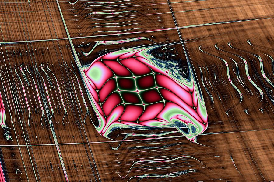 Abstract Digital Art - Lyapunov No. 47 by Mark Eggleston