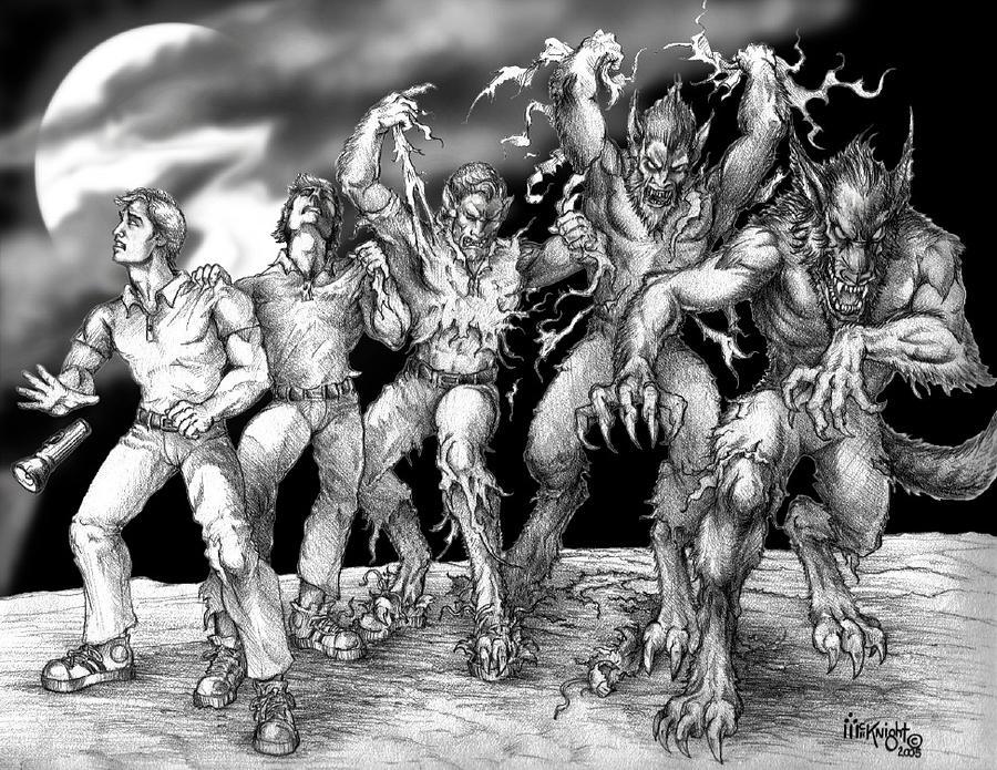 Lycanthrope Digital Art by James Carl McKnight
