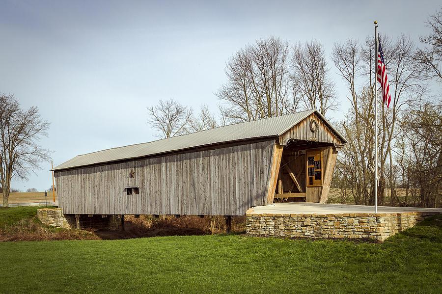 Lynchburg Covered Bridge Photograph