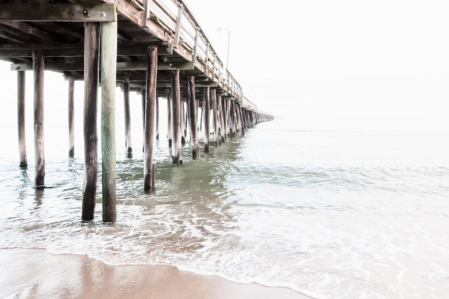 Chesapeake Bay Photograph - Lynnhaven Fishing Pier by Lisa McStamp