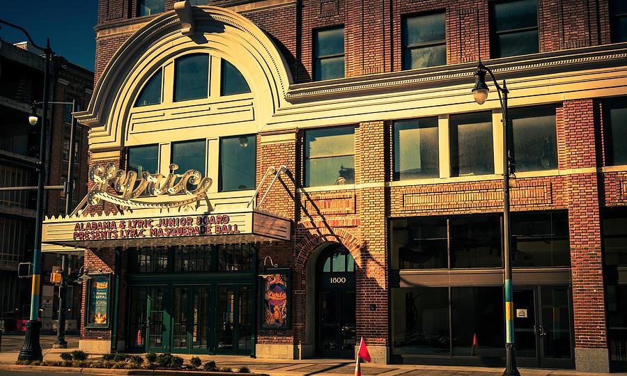 Lyric Theater Photograph - Lyric Theater by Phillip Burrow