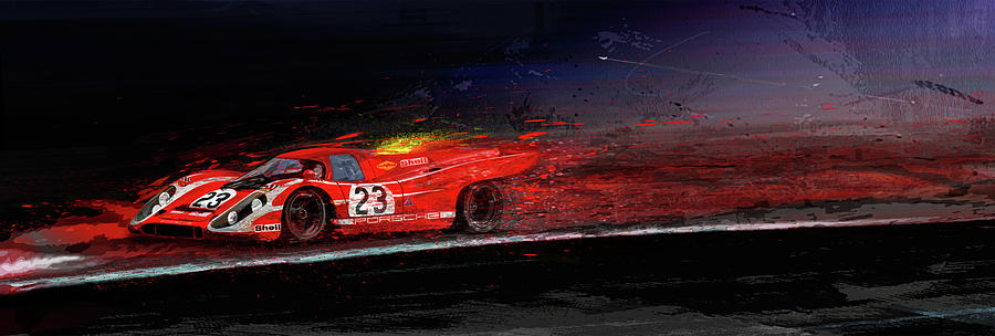 M Mcfly Racing Digital Art