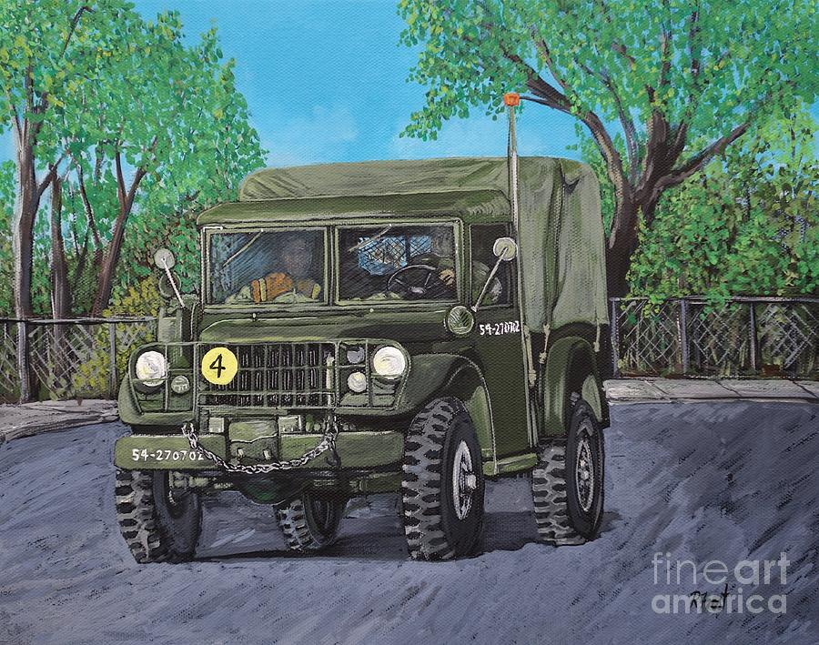 M37 Truck 3BAM by Reb Frost